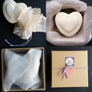 Patchouli, Geranium & Orange Soap Heart & Neem Gift Set