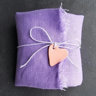 Fabric Wrapped Soap Gift