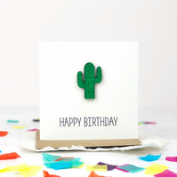 Cactus Birthday Card