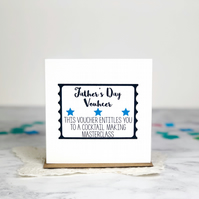 Personalised Father's Day Voucher