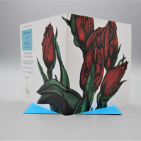 5 blank floral greeting cards for an occassion