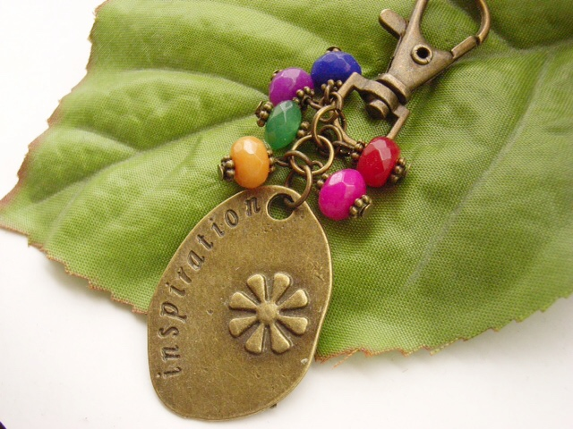 Inspiration word charm
