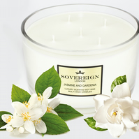 5 wick 1.3kg Extra Large Luxury Scented Soy Multiwick Candle with Jasmine