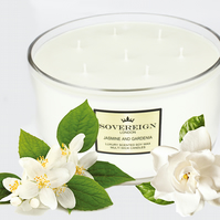 7 wick 1.9kg Extra Large Luxury Scented Soy Multiwick Candle with Jasmine