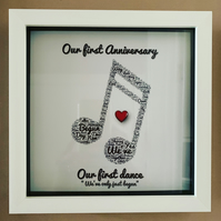 Personalised Anniversary frames