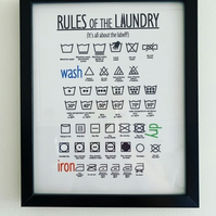 Rules of the Laundry Frame