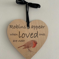 Robins Appear Heart