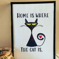 HOME is where the cat is!