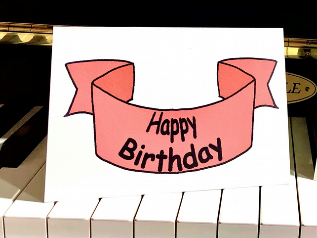Happy Birthday Banner - Eco-friendly