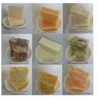 Any 3 of our 100% Handmade Soaps for 10 Pounds