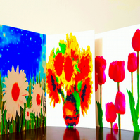 Six Assorted Greetings Cards