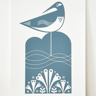 A4 Shorebird - Signed Open Edition Giclee Print