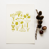 A4 Autumn Woodland Print