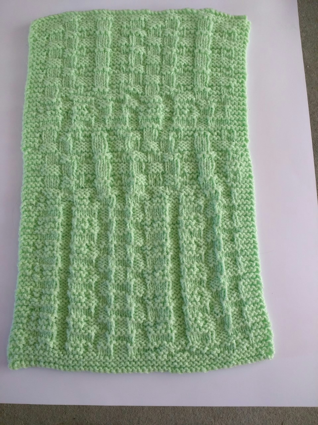Spring Green baby blanket
