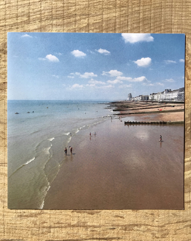 Hastings Beach Greetings card