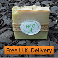 Sustainable & Organic Lime Soap