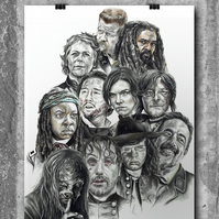 The Walking Dead Montage by Wil Shrike