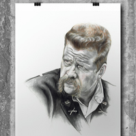 Abraham Ford from The Walking Dead by Wil Shrike
