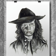 Carl Grimes from The Walking Dead by Wil Shrike