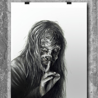 Alpha from The Walking Dead by Wil Shrike