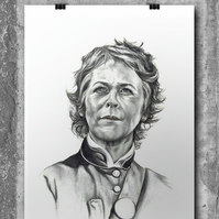 Carol from The Walking Dead by Wil Shrike