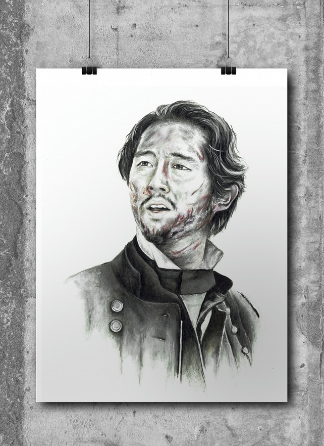 Glenn Rhee from The Walking Dead by Wil Shrike