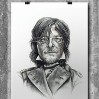 Daryl Dixon from The Walking Dead by Wil Shrike