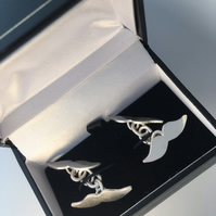 Cufflinks sterling silver Moustaches
