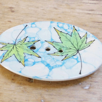 Soap Dishes - Fall Maples (Oval)