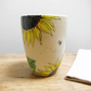 Pen Holder or Mug - Sunflowers