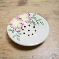 Soap Dishes - Wild Rose (Circle)