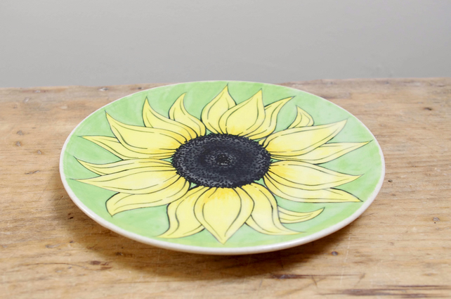 Side Plate - Sunflower