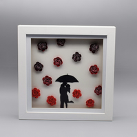 Raining Roses - Wall Art