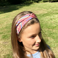 Paisley Print Stretch Headband