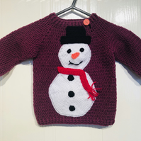 18-24 month old children's Christmas jumper