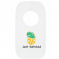 Just Hatched 100% Cotton Baby Bib - 0-3 Months