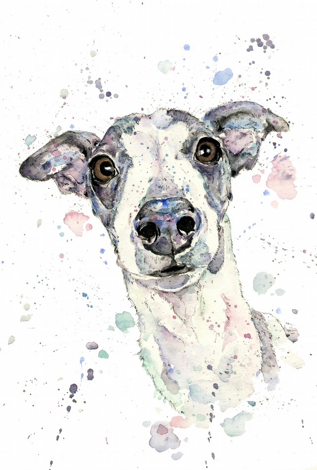Personalised Watercolour Pet Portrait