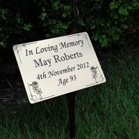 memorial plaque, memorial tree marker, Memorial Tree plaques, memorial garden
