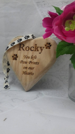 Personalised Pet Memorial Plaque Pet Grave Marker Pet Loss Ornament