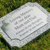 Grave Marker Ground Memorial Plaque Flat Grave Cemetery Stone headstone