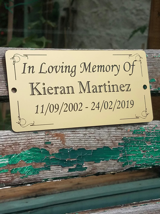 "PET MEMORIAL 5/""X7/"" BRASS CUSTOM ENGRAVED PLAQUE WITH YOUR PICTURE DOG CAT BIRD"