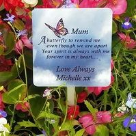 Memorial Grave plaque Grave Ornament Cemetery plaque Memorial Grave Marker