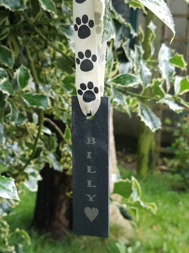 Personalised Pet Memorial Tree Or Garden Plaque Pet Remembrance Petloss Gift