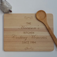 Personalised Wooden Cheese or Chopping Board,New home Gift wedding Gift
