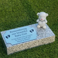 Granite flat grave marker Baby Markers Baby Infant Child Grave Markers Headstone