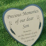 Solid Granite Grave Marker Grave Memorial Plaque Temporary Headstone Grave Stone