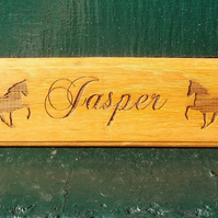 Engraved Horse Plaque Stable Door Plaque Tack Room Plate  Stable Pony Farm Sign