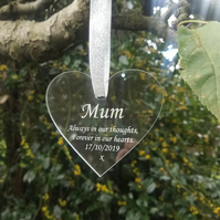 Memorial Graveside Heart Plaque Memorial Tree plaque Cemetery Grave Plaque