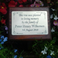 Solid Wooden Memorial Plaque Plaque Cemetery Tree Remembrance Grave Plaque
