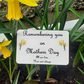 Mothers day Memorial plaque  Mum Grave Ornament Cemetery Grave Plaque